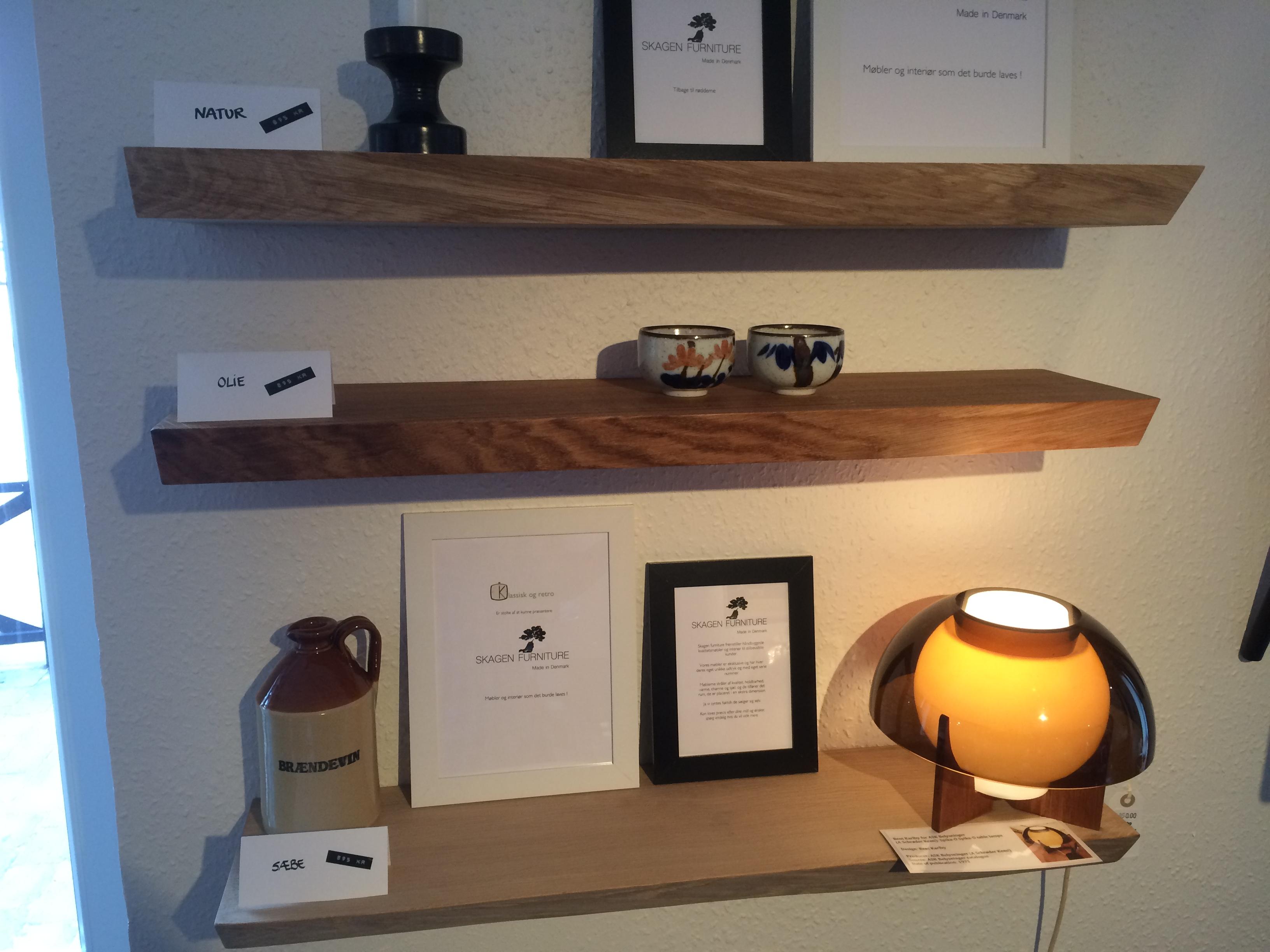 Picture of: Svaevehylder Skagen Furniture