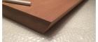 Mahogni svævehylde skagen furniture beslag