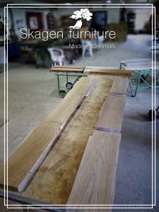 egetræs svævehylder skagen furniture