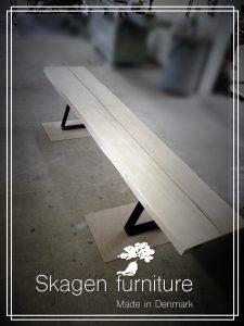 Skagen furniture bænk bæredygtigt egetræ